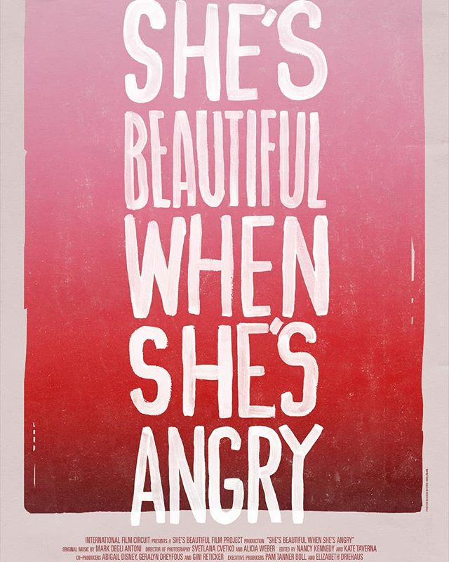 Still one of my favourite #documentaries of all time  I cried, I laughed, I loved and I got very, very angry. #shesbeautifulwhenshesangry