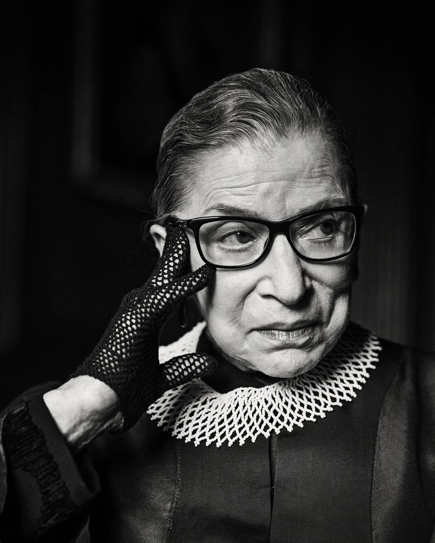 Thank you for the revolution  I'm heartbroken today in every single way. RIP. #ruthbaderginsburg #notoriousrbg