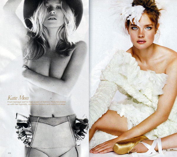 testino Fotografie: Star Girls by Mario Testino