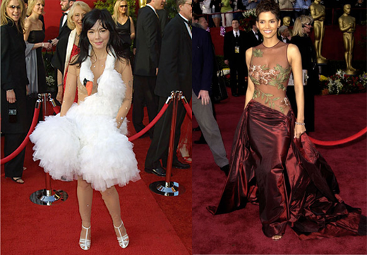 Björk Halle Berry And the Oscar goes to...