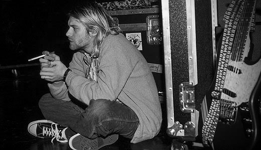 kurt cobain1 Old but Gold   Streitpunkt: Comeback des Chuck Taylor All Stars