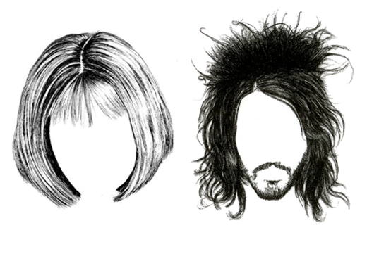 Whose Hair Haare Jane Wayne News - Cartoon Hairstyles