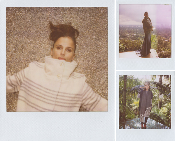 Band of outsiders Winterlookbook: Boy. by Band of Outsiders mit Elena Anaya