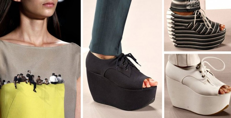 akris spring summer 2012 shoes 800x411 Schuhe & 3D Prints bei Akris Spring Summer 2012
