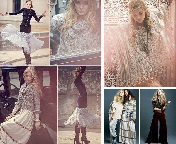 Free People Update: Free People für November THROUGH THE DECADES