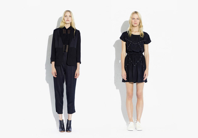 surface to air SS12 Women%C2%B4s Collection 1 Trend: Monochrome Outfits & Zweiteiler bei Surface To Air S/S12