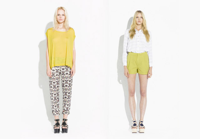 surface to air SS12 Women%C2%B4s Collection 11 Trend: Monochrome Outfits & Zweiteiler bei Surface To Air S/S12