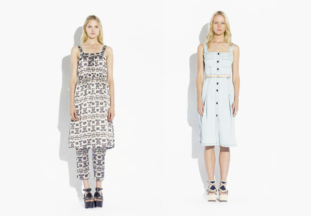 surface to air SS12 Women%C2%B4s Collection 12 Trend: Monochrome Outfits & Zweiteiler bei Surface To Air S/S12