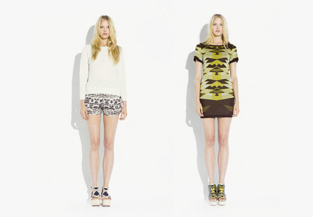 surface to air SS12 Women%C2%B4s Collection 13 Trend: Monochrome Outfits & Zweiteiler bei Surface To Air S/S12