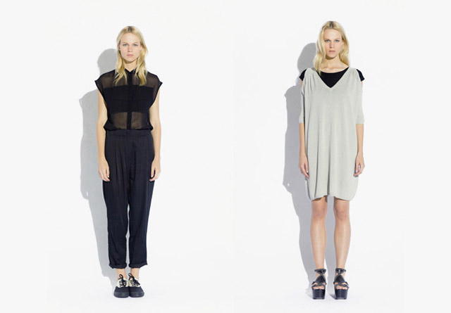 surface to air SS12 Women%C2%B4s Collection 2 Trend: Monochrome Outfits & Zweiteiler bei Surface To Air S/S12
