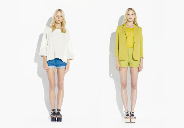 surface to air SS12 Women%C2%B4s Collection 5 Trend: Monochrome Outfits & Zweiteiler bei Surface To Air S/S12