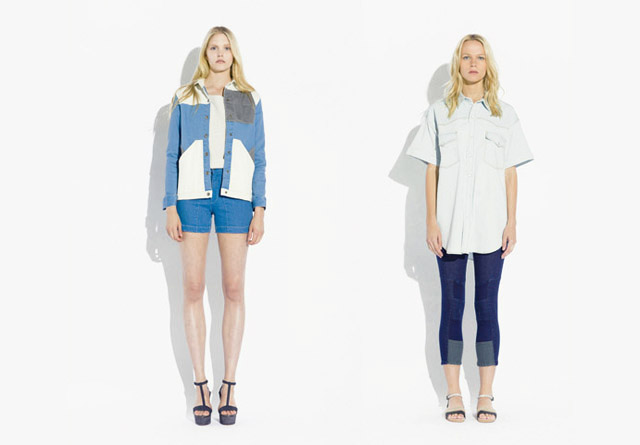 surface to air SS12 Women%C2%B4s Collection 6 Trend: Monochrome Outfits & Zweiteiler bei Surface To Air S/S12