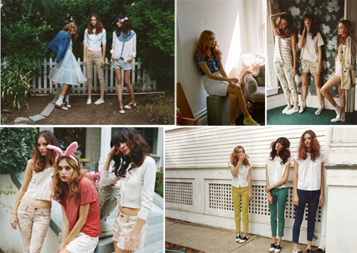 current elliott spring 2012 Inspiration: Das Sommer Lookbook von Current / Elliott