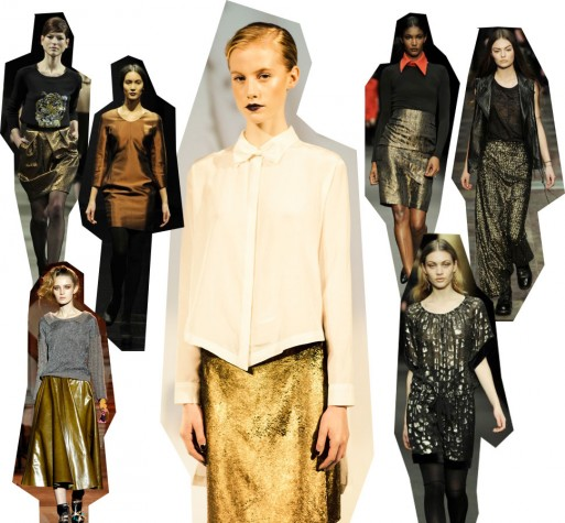 gold bronze 513x475 Fashion Week Trendspotting: Goldmarie   Do or Dont?