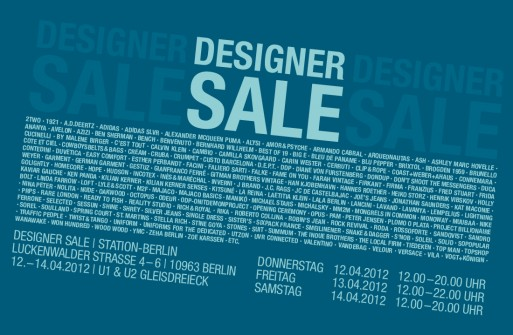 Designer Sale Facebook QF 513x335 Vorgemerkt: Designer Sale in der STATION BERLIN