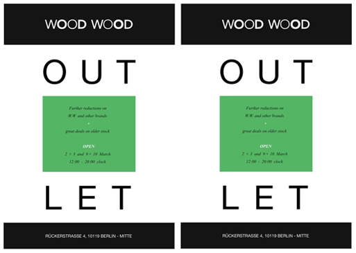 woodwood Super Sale: Wood Wood Outlet öffnet wieder