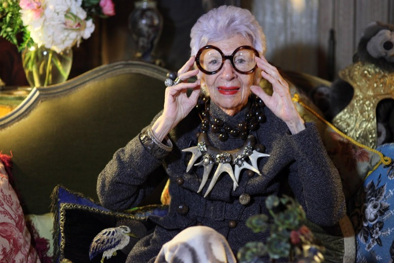 IMG 1408 800x533 Jane des Tages: Mode Omi Iris Apfel im Video Interview: Im not just an empty headed fashionista