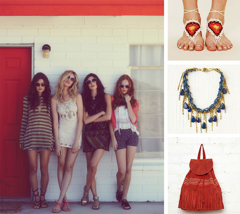 free people lookbook Free People: Lookbook für April & Festival Accessoires