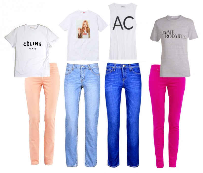sojeans 800x682 All Time Favourite: Jeans & T Shirt! So simple, so great, so jeans!