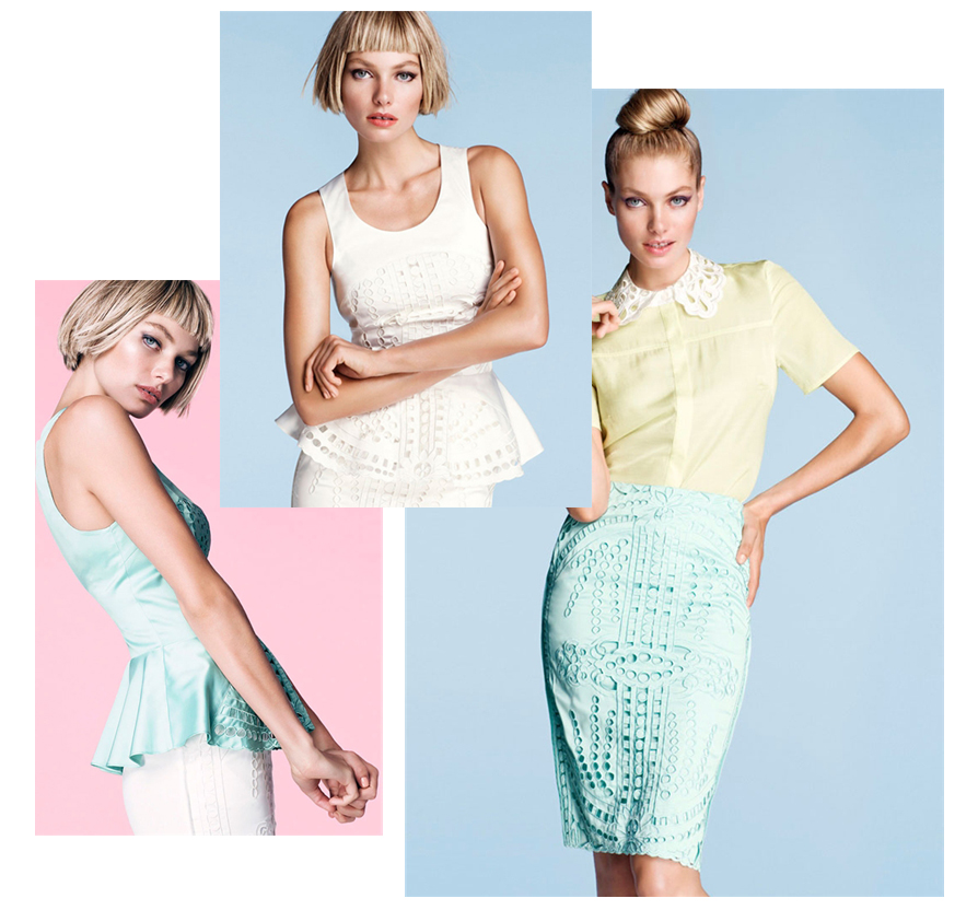 HM Sommer 2012 Hereinspaziert in H&Ms Bonbonwelt   Sommerlooks 2012