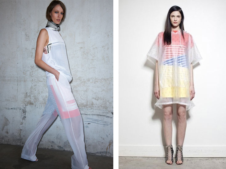 celine band of outsiders resort 2013 Entdeckt: Resort 2013 Trend   Die neue Transparenz bei Céline, Boy by Band of Outsiders & Acne   Do oder Dont?