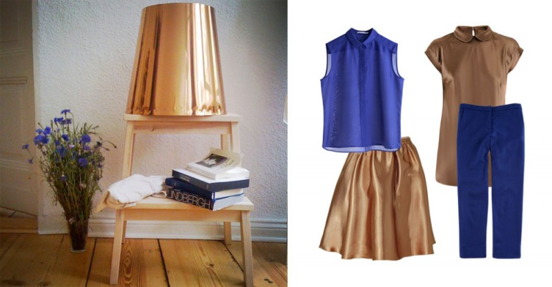 bronze blue 800x416 Inspiration: Mein neues Dreamteam   Bronze & Blau!