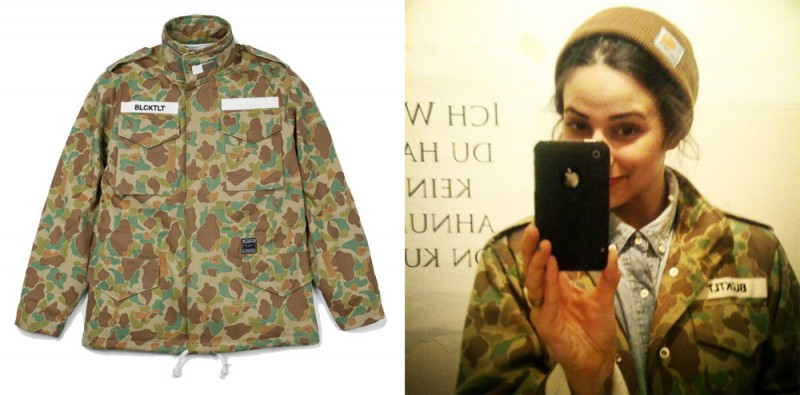 leata 800x395 New In: Camouflage Jacket von LEATA aus Seoul