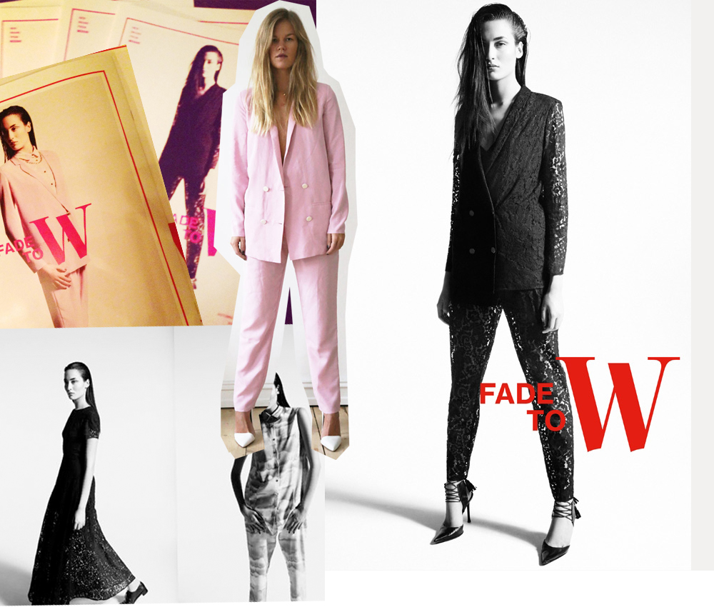 Fade to W Update: Weekday lüftet neues Brand Fade to W designed byStine Goya
