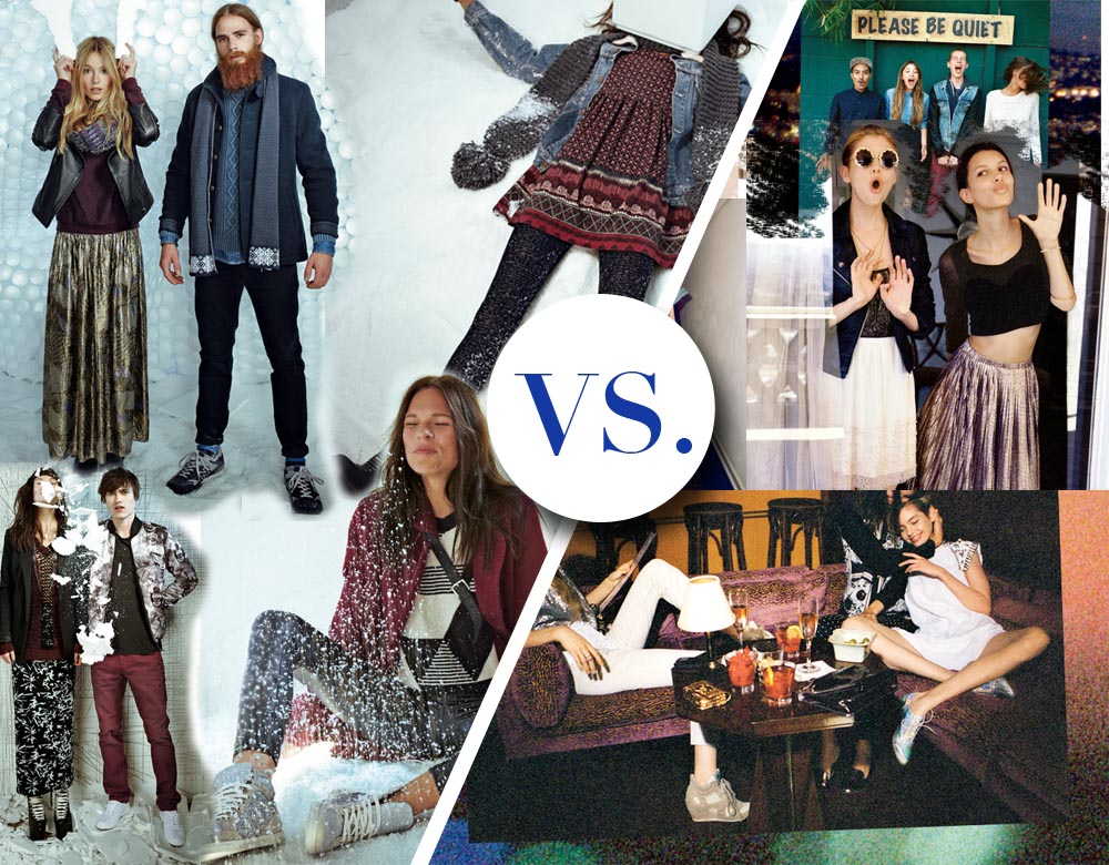The Winter Offensive by Urban Outfitters: Europe Versus US Catalogue