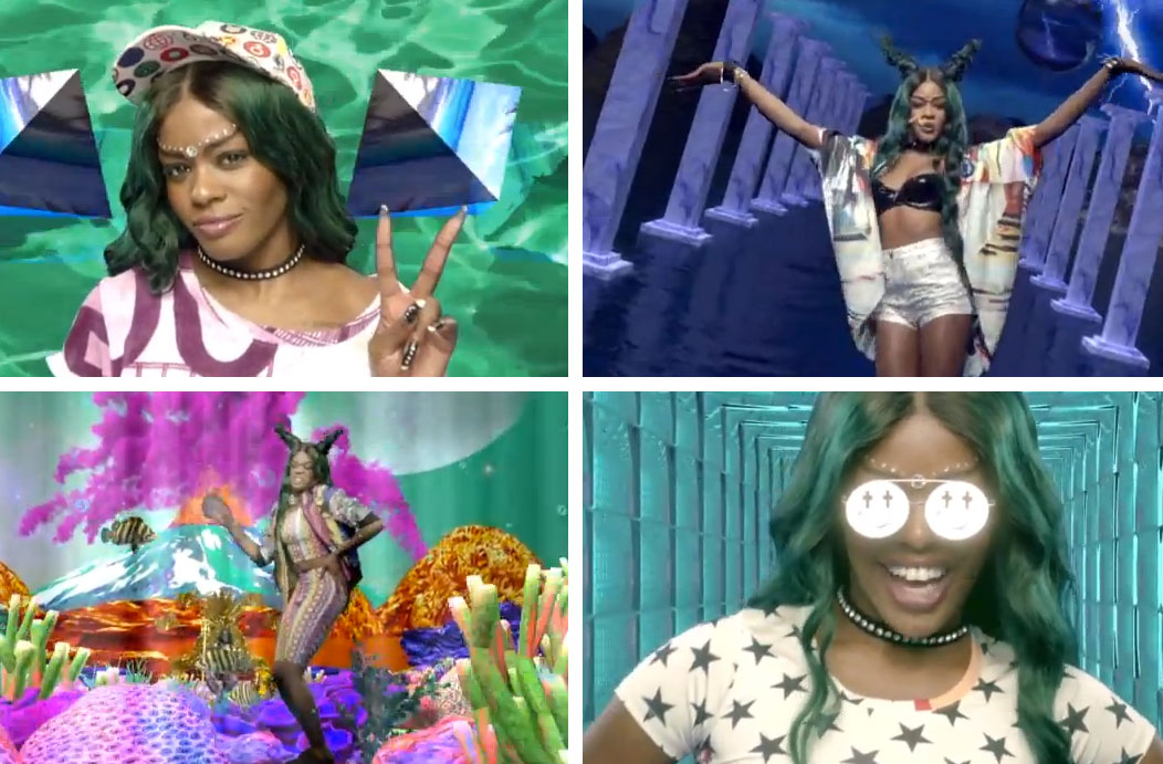 azealia banks Video: Azealia Banks Atlantis und die volle Ladung Future 90s
