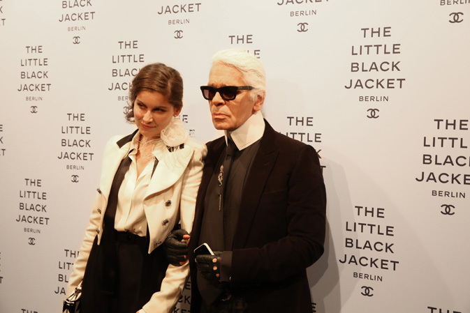 Video Interview von Julia Freitag   Chanel in Berlin The Little Black Jacket