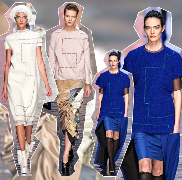 Acne Studios Paris Fashion Week: Acne Studios und die übergroße Naht