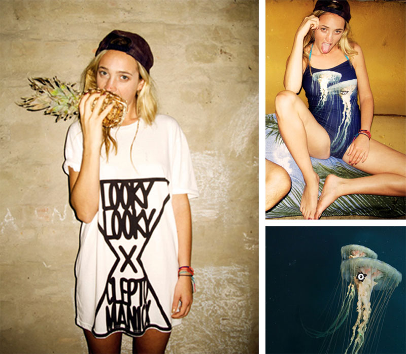 lookylooky cleptomanicx Lookbook: Looky Looky Posse x Cleptomanicx fotografiert von Kate Bellm