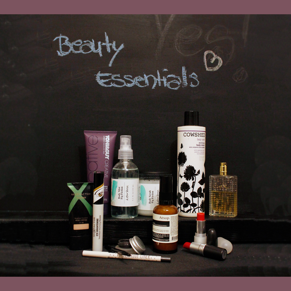 beauty Beauty Essentials   Sarahs aktuelle Beauty Begleiter