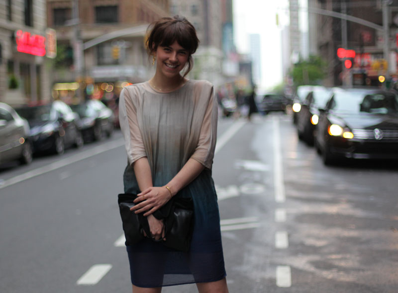 New York: Outfit – In a Dress by Hien Le to the Moma Dinner