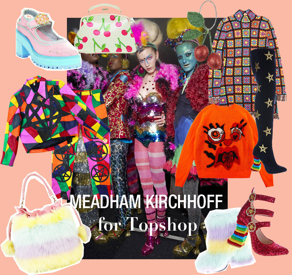 Meadham Kirchoff X Topshop pictures