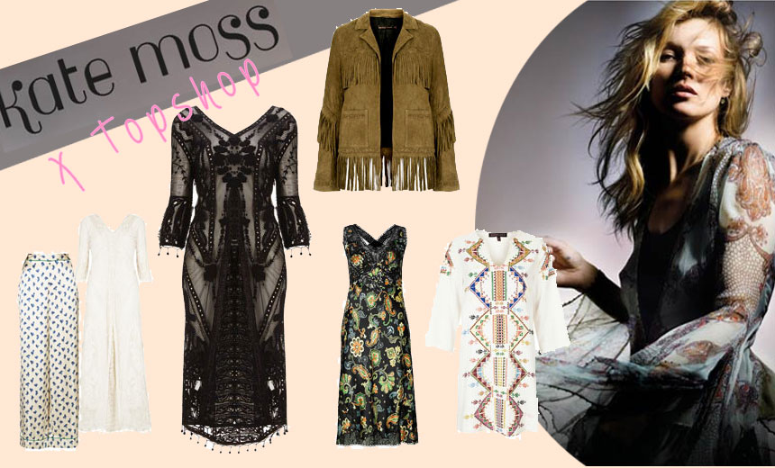 Kate Moss Topshop Kollaboration online