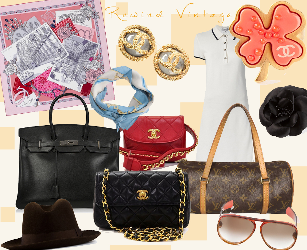 Rewind Vintage  -with Chanel, Hermes, Louis Vuitton & Co.