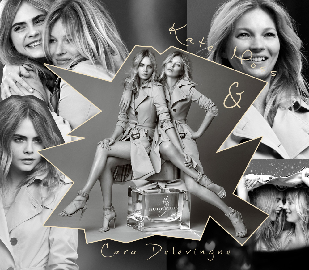 my burberry kate moss cara delevingne