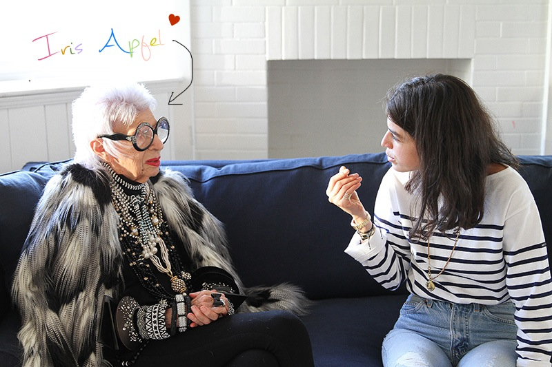 leandra interview iris apfel