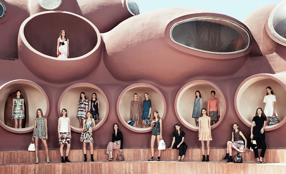 Dior Cruise 2016 Group Shot