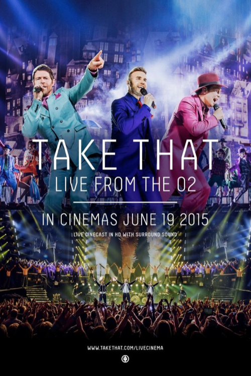TAKE THAT Tournee cinema