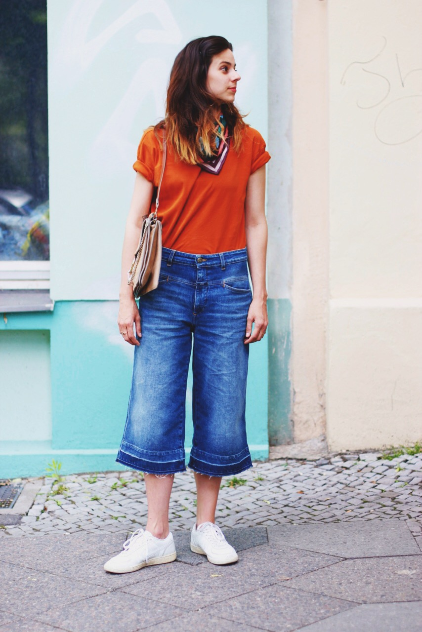 closed denim culotte