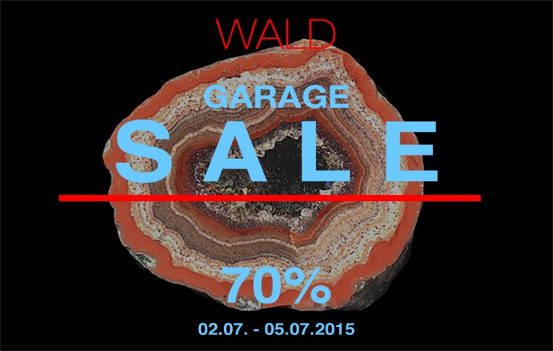 WALD Garage Sale