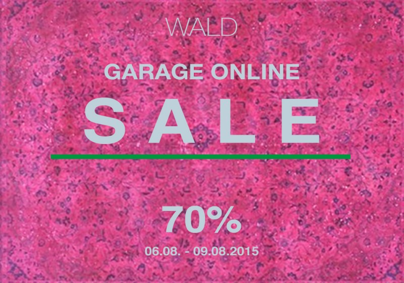 WALD Berlin Garage Sale