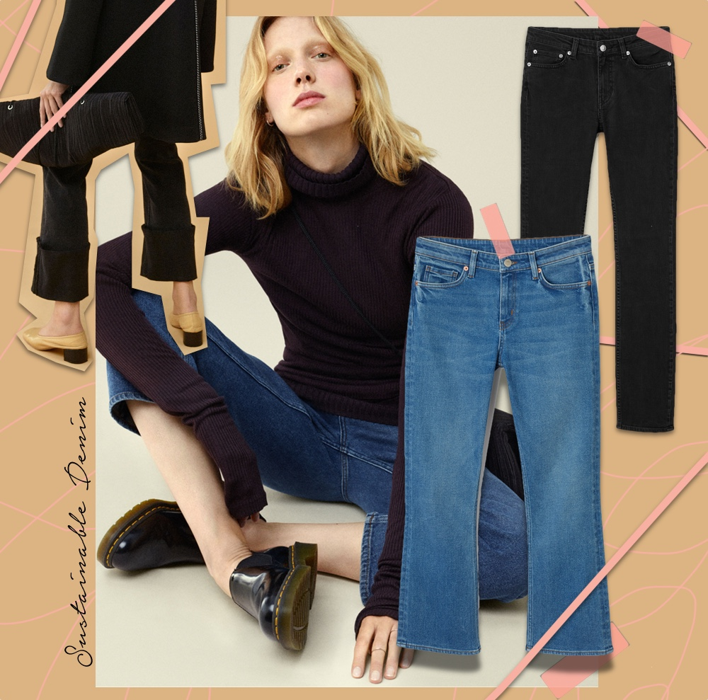 weekday sustainable denim