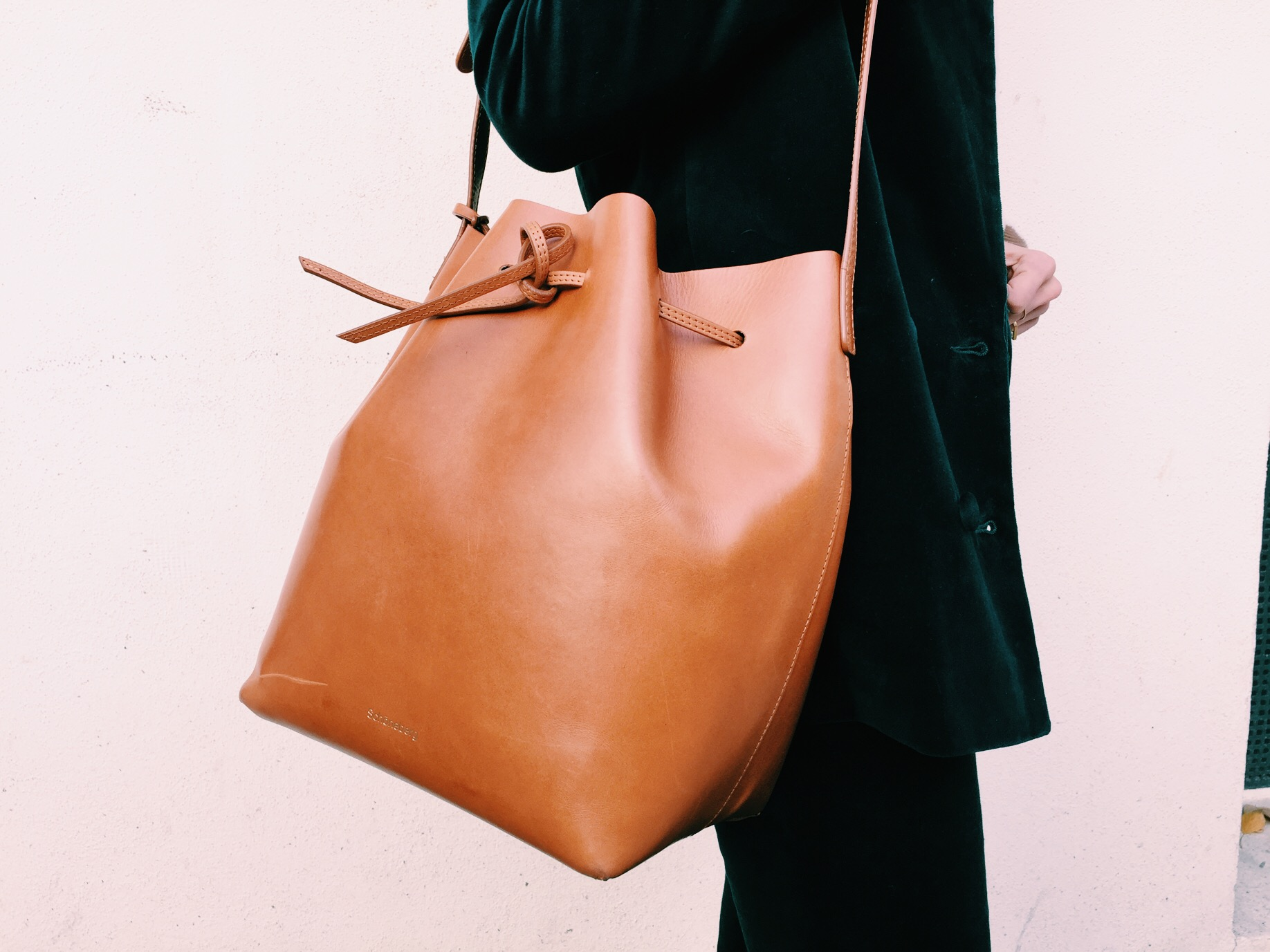 Bucket Bag Cognac