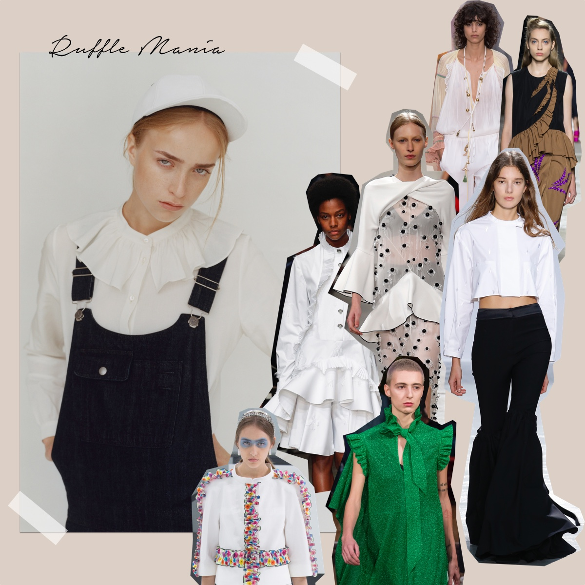 ruffle trend fashion week 2016