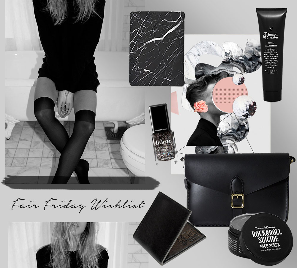 weihnachten fair friday wishlist all black christmessy jane wayne news. Black Bedroom Furniture Sets. Home Design Ideas