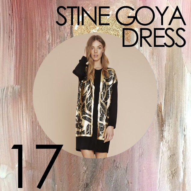 stine goya prespring 2016 dress kleid